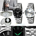 2015 MEN WATCHES NEW DIAL STAINLESS STEEL SPORT WRIST WATCH QUARTZ Wrist Watch