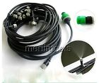 Outdoor Garden Misting Cooling System Mist Nozzle Sprinkler 5~20m packages