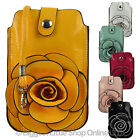 NEW Ladies PU Carry/Cross Body Smart Phone BAG by Leko London iPhone Stylish