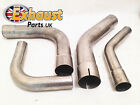 90 Degree Exhaust Mandrel Bends Stainless Steel All Sizes Tubing Bend Swage