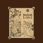 Map of Westeros Game of Thrones Tshirt Baratheon Lannister Stark Targaryen