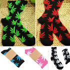 Men Girl Boy Marijuana Weed Leaf Ankle High Socks Plantlife High Cotton Socks