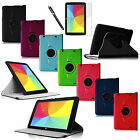 For LG G Pad 10.1 V700 Andriod Tablet Rotating Leather Magnetic Case Stand Cover