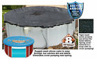 Arctic Armor Rugged Mesh Above Ground Swimming Pool Winter Covers Round Oval