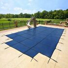 20x40 MESH, Winter SAFETY POOL COVER for INGROUND POOL, 15 Yr WARRANTY