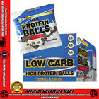 BSC HIGH PROTEIN LO CARB BALLS - BOX OF 8 x 70g - BODYSCIENCE