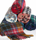 Winter Neck Scarf Brushed Lambswool MacB to MacI Scottish Plaid Ships free in US