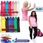 AWDis 015 Personalised Printed Ladies Cool Vest Running Training Gym Fitness Top