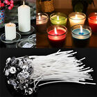 "100pcs Cotton CANDLE WICKS with SUSTAINERS for Teacup Jar Candles 1"" 2"" 4"" 8"" B1"