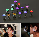 Charming Lady HOT Light Up LED Newfangled Glow Earrings Glowing Party Ear Stud