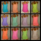 Victoria Secret PINK Dog Tank Top Tee Racerback Scoopneck Shirt Solid Sleepwear