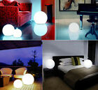 Waterproof LED Mood Ball Light Lamp Multi Color Remote Control In/Outdoor Decor