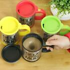 Automatic Electric Self Stirring Mugs Coffee Mixing Drinking Cup Stainless Steel