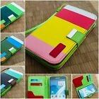 NEW Luxury Flip PU Leather Wallet Case Cover For Samsung Galaxy Note 2 N7100