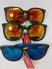 Ladies/Mens Fashion Designer copy Mirror lens  Sunglasses  with Coloured Frames