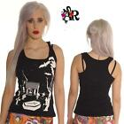 UV  VEST TOP  GOTH EMO 80S FANCY DRESS