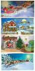 Advent Calendar Cards with envelope 23.5x11 cm traditional German designs