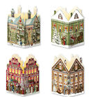 Nostalgic House Lantern pop up advent calendar cards traditional german design