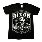 DIXON MOONSHINE OFFICIAL WALKING DEAD PRINTED T-SHIRT