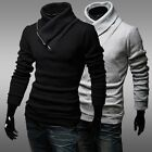 2014 New Jumper Mens Casual Slim Fit Sweaters Pullover Knitwear Turtleneck Q31