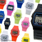 Classic Retro Vintage 80s Style Digital Watch