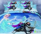 Frozen Anna and Kristoff Family Queen Bed Quilt Cover Set - Flat or Fitted Sheet