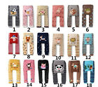 Baby Toddler Infant Boy Girl Unisex Leggings Trousers Pants Footless Tights