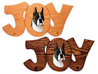 Boxer Dog Breed Joy Leash Holder In Home Wall Decor Wood Products & Pet Gifts