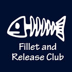 Fillet and Release Club funny tshirt fishing rod reel tackle outboard trailer