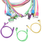 3 in 1 USB Cable 30 8 Pin & Micro  fr iPhone 4 5 iPad Galaxy S4 S5 HTC LG 1M 3FT
