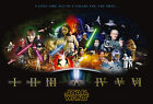 Star Wars Cast Giant Poster - A0 A1 A2 A3 A4 Sizes $18.84 CAD on eBay