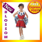 CK118 Patriotic Cheerleader Girls Child Sports Halloween Fancy Dress Costume