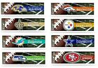 NFL  BUMPER STICKERS NEW COLORFUL GLOSSY DESIGNS, ASSORTED TEAMS $4.39 USD on eBay