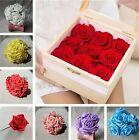 50pcs Foam Rose Artificial Flower Wedding Bride Bouquet Party Decor Craft HOT-CB