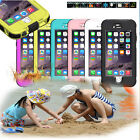 "Case For iPhone 6 Plus 4.7"" 5.5"" Waterproof Durable Shockproof Cover Back"