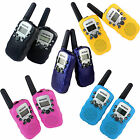 2PCS Walkie Talkie RT-388 UHF US Euro Frequency For Kid Children Two-Way Radio