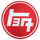 "4"" TEQ TOYOTA JAPANESE RACING TRD VINYL ROUND CUT STICKER CAR DECAL"