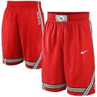 Ohio State Buckeyes NCAA 2014 Mens Red Road Replica Shorts