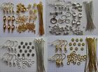 Lot Making Jewelry Necklace Earring & Bracelet Kit Findings ✰✰USA Seller✰✰