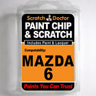 MAZDA 6 TOUCH UP PAINT Stone Chip Scratch Car Repair Kit 2008-2012
