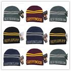 Warm Winter Harry Potter Hufflepuff House Wool Hat Knitted Cap Cosplay Props CB