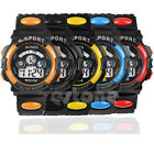 Waterproof Children Boy Digital LED Quartz Alarm Date Sports Wrist Watch New