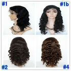 Lace Front Wigs 100% Indian Virgin remy Human Hair Body Wave Hair Cheap Wigs TOP