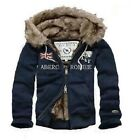 Great Winter Abercrombie and Fitch United Kingdom Flag Navy Man Hoodies S/M/L/XL