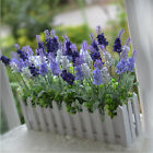 Dark Purple 10 Head Artificial Lavender Silk Flower Home Garden Decorations Gift