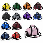 "DALIX 14"" Duffle Gym Mini Travel Bag Green Black Gray Blue Red Pink Orange"
