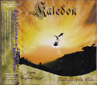 KALEDON Twilight Of The Gods + 2 Japan CD + DVD Rhapsody Melodic Italian Metal