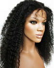 Best Curly 100 Human Hair Lace Front Wigs Black Women Brazilian Remy Deep Curly