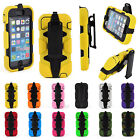 New Shockproof Silicon Hard Case Cover With Belt Clip For iphone 5G/5S 12Colors
