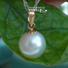 80%OFF 9-9.5mm&10.5-11mm AAA+++ Akoya Natural White Pearl  Pendants 14kt  Gold